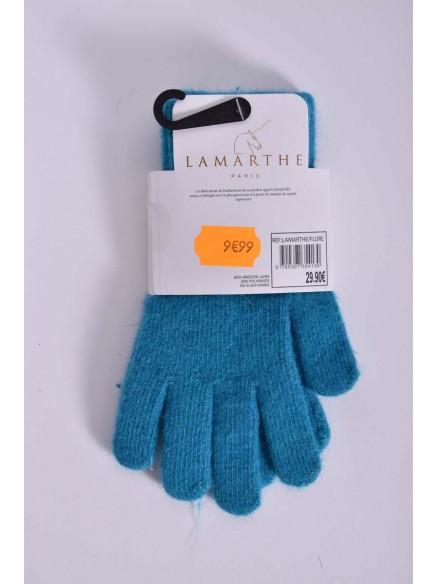 lamarthe-angora - Gant femme LAMARTHE en Angora Laine - Flore -