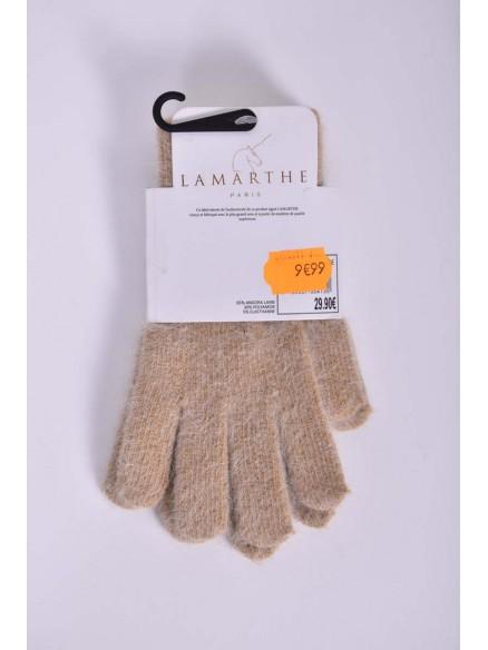 lamarthe-flore - Gant femme LAMARTHE en Angora Laine - Flore -