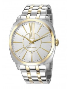 4891945192488 - Pierre Cardin Picpus Two Tone Gold - PC106771S07-Silver - stainless-steel-Round - 44 mm -